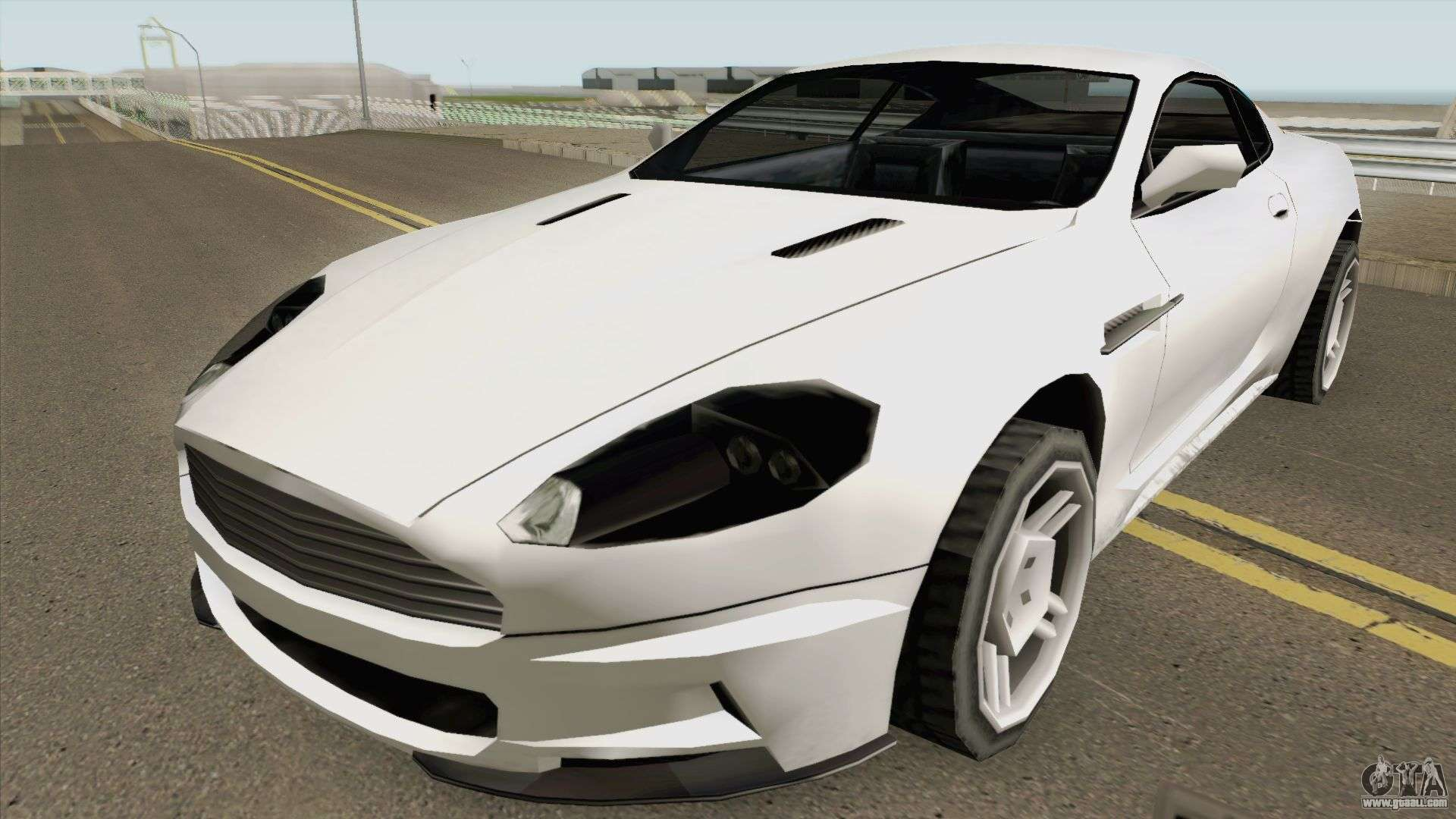 Aston Martin DB9 Low Poly for GTA San Andreas