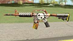 CS:GO M4A1 (Demolition V1 Skin) for GTA San Andreas