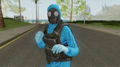 HazMat Skin Blue for GTA San Andreas