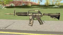 CS:GO M4A1 (Flashback Skin) for GTA San Andreas