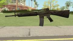 M16A2 Full Jungle Camo (Ext Mag) for GTA San Andreas