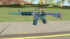 CS:GO M4A1 (Mobius Skin) for GTA San Andreas