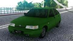 Green VAZ 2112 Hatchback for GTA San Andreas