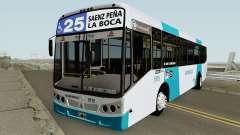 Todobus Pompeya II Agrale MT15 Linea 25 Interno for GTA San Andreas