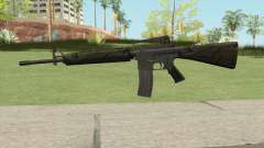M16A2 Partial Jungle Camo (Ext Mag) for GTA San Andreas