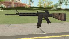 Battlefield 3 M16 for GTA San Andreas