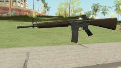 M16A2 Partial Desert Camo (Ext Mag) for GTA San Andreas