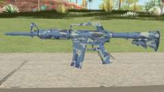 CS:GO M4A1 (Ocean Bravo Skin) for GTA San Andreas