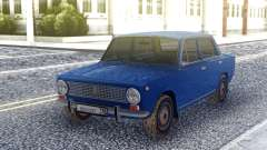 VAZ 2101 Blue Sedan for GTA San Andreas