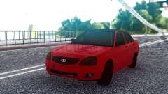 VAZ 2170 Red Sedan for GTA San Andreas