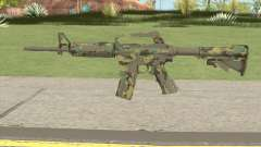 CS:GO M4A1 (Forest Boreal Skin) for GTA San Andreas
