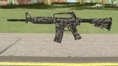 CS:GO M4A1 (Zebra Dark Skin) for GTA San Andreas
