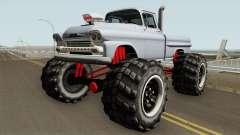 Chevrolet Apache Monster Truck 1958 V1 for GTA San Andreas