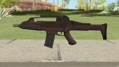 XM8 Compact V2 Red for GTA San Andreas