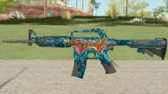 CS:GO M4A1 (Silence Skin) for GTA San Andreas