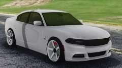 Dodge Challenger SRT White for GTA San Andreas
