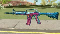 CS:GO M4A1 (Hyper Beast Skin) for GTA San Andreas