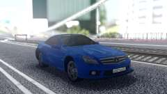 Mercedes-Benz SL65 Blue for GTA San Andreas