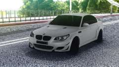 BMW M5 E60 White Sedan for GTA San Andreas