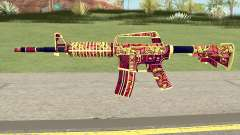 CS:GO M4A1 (Soultaker Skin) for GTA San Andreas