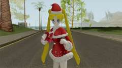 Usagi Tsukino in Christmas Clothes for GTA San Andreas