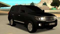 Toyota Land Cruiser 200 2013 Black for GTA San Andreas
