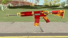 Rules Of Survival AR15 Wild Dragon for GTA San Andreas