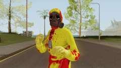 HazMat Skin Zombie for GTA San Andreas