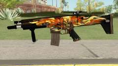 Scar-L Skull for GTA San Andreas