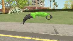 Knife V1 (Apocalypse) for GTA San Andreas