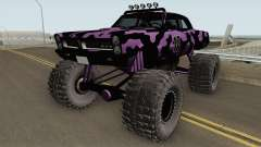 Pontiac GTO Monster Truck Camo 1965 for GTA San Andreas