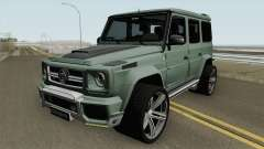 Mercedes-Benz G700 Brabus Widestar HQ for GTA San Andreas