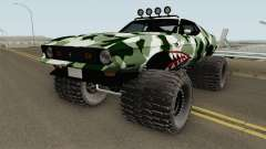 Ford Mustang Off Road Camo Shark 1971