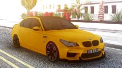 BMW M5 E60 Yellow for GTA San Andreas