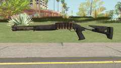 Benelli M4 SEALs Desert  Camo for GTA San Andreas