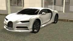 Bugatti Chiron Winter Edition for GTA San Andreas