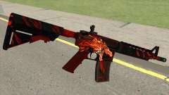 CSGO M4A4 Howl for GTA San Andreas