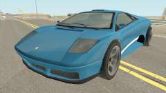 Infernus GTA IV for GTA San Andreas