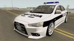 Mitsubishi Lancer Evolution X POLICIJA BiH for GTA San Andreas
