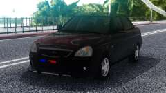 Lada Priora Police Lights for GTA San Andreas