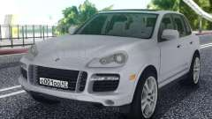 Porsche Cayenne White for GTA San Andreas