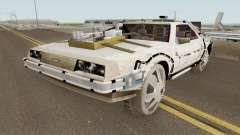 DeLorean DMC-12 Time Machine Cave for GTA San Andreas