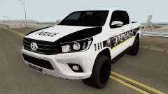 Toyota Hilux Georgia Police HQ for GTA San Andreas