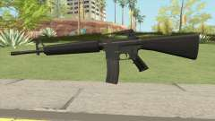 M16A2 Default Design (Ext Mag) for GTA San Andreas