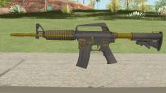 CS:GO M4A1 (Metals Skin) for GTA San Andreas