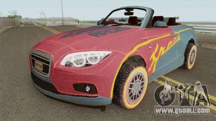ROS Rosy Comet Car for GTA San Andreas