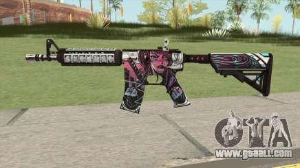 CS-GO M4A4 Neo-noir for GTA San Andreas