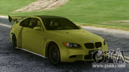 BMW M3 GTS Green for GTA San Andreas