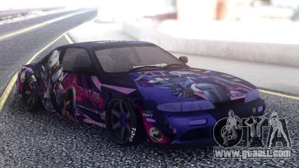 Nissan Silvia S14 SuicidePaintjob for GTA San Andreas