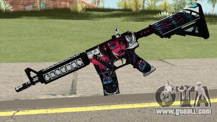 CSGO M4A4 Neo Noir for GTA San Andreas